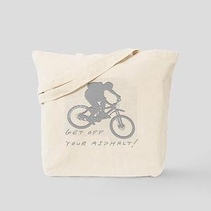 10x10_mtb_asphalt Tote Bag
