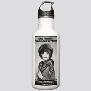 BITCH 2sml (2) Stainless Water Bottle 1.0L