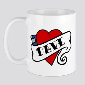 Dave tattoo Mug
