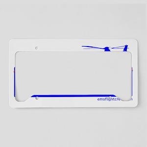 emsflightbanner11 License Plate Holder