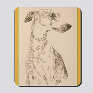 Whippet_KlineY Mousepad