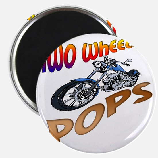 TWO WHEELIN POPS Magnet
