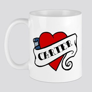 Carter tattoo Mug