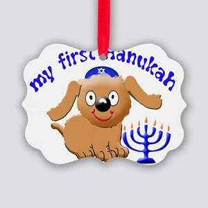 first-hanukah Picture Ornament