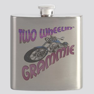 TWO WHEELIN GRAMMIE Flask