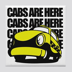Cabs are here Tile Coaster
