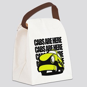 Cabs are here Canvas Lunch Bag
