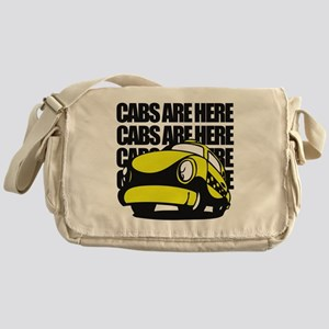 Cabs are here Messenger Bag