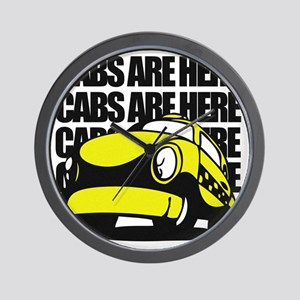Cabs are here Wall Clock