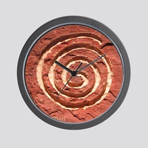 THE JOURNEY TILE  W SIG Wall Clock
