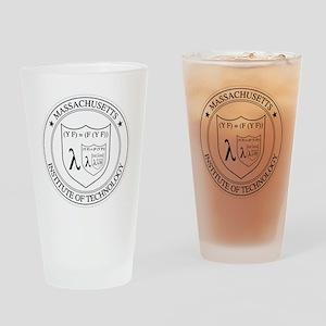 Lambda Drinking Glass