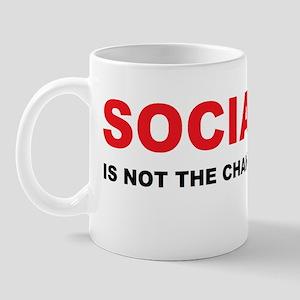 Socialism is not the changedbumperl Mug