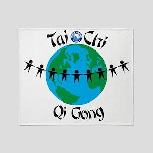 WorldTaiChi no date Throw Blanket