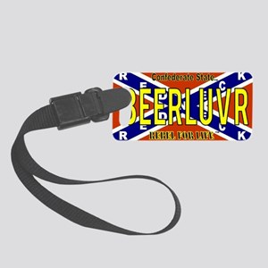 Confederate State (BEERLUVR) 041 Small Luggage Tag