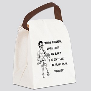 zombiebert Canvas Lunch Bag