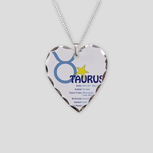 Taurusdetail Necklace Heart Charm
