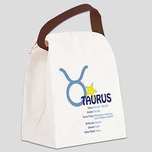 Taurusdetail Canvas Lunch Bag