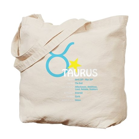 Taurusdetaildark Tote Bag