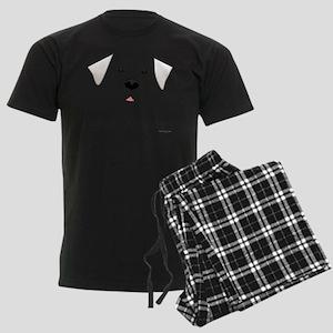 GreatPyreneesFace Men's Dark Pajamas