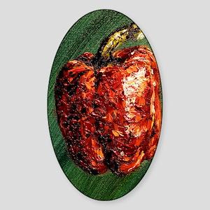 Pepper Sticker (Oval)