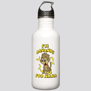 I'm Banana's For Nana Stainless Water Bottle 1.0L