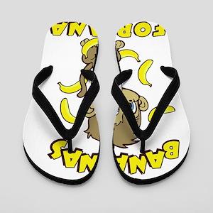 I'm Banana's For Nana Flip Flops
