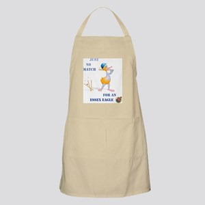 456 Cricket Duck Bowled with Essex Text Apron