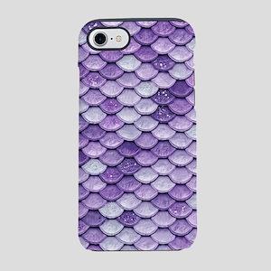 Purple Iridescent Shiny Glitte iPhone 7 Tough Case