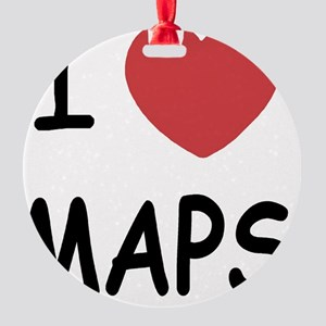 MAPS Round Ornament