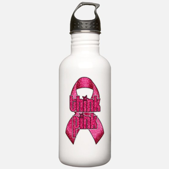 THINK PINK Water Bottle