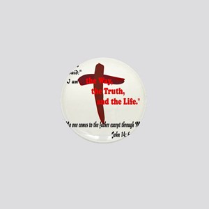 The Way, The Truth, and the Life. 8 Mini Button