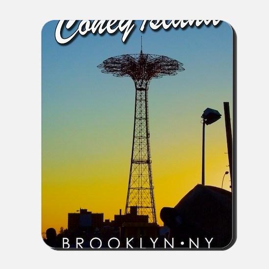 Poster-Coney-Parachute Mousepad