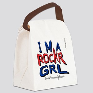 ROCKRGRLbout Canvas Lunch Bag