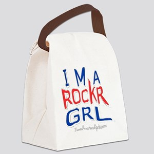 ROCKRGRLwout Canvas Lunch Bag
