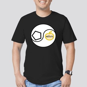 2000Chao Men's Fitted T-Shirt (dark)