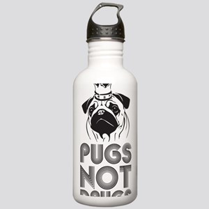 PUGSNOTDRUGS Stainless Water Bottle 1.0L