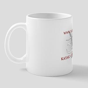 Yakodile Oval White 2 Mug