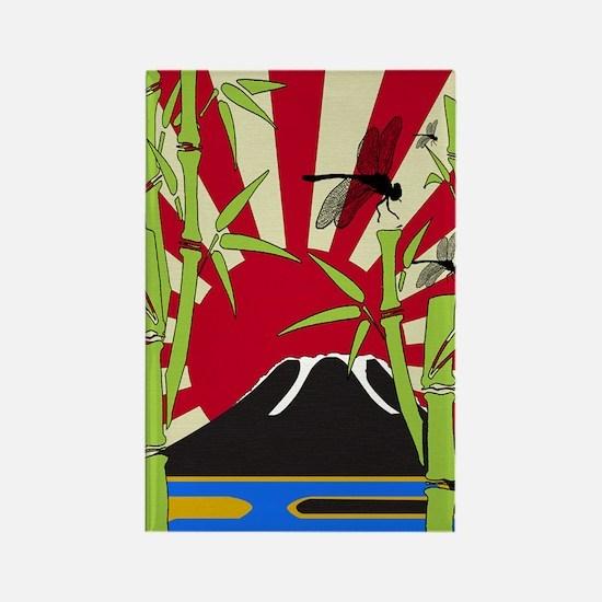 JAPAN_REBIRTH Rectangle Magnet