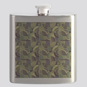 Clearly Cubist 24m Flask