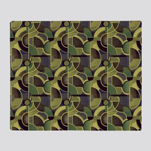 Clearly Cubist 24m Throw Blanket