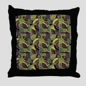 Clearly Cubist 24m Throw Pillow