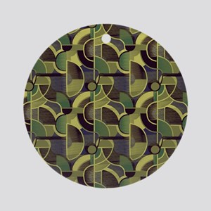 Clearly Cubist 24m Round Ornament