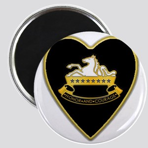 8th-Cavalry-Heart-neckless Magnet