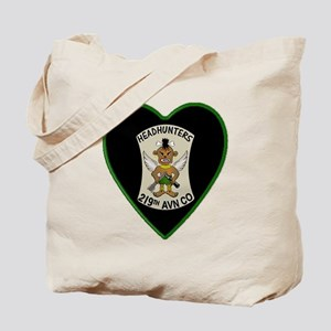 219th-RAC-Heart-neckless Tote Bag