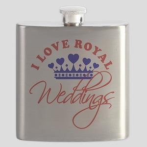 I Love Royal Weddings 1 Flask