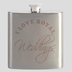 I Love Royal Weddings 2 copy Flask