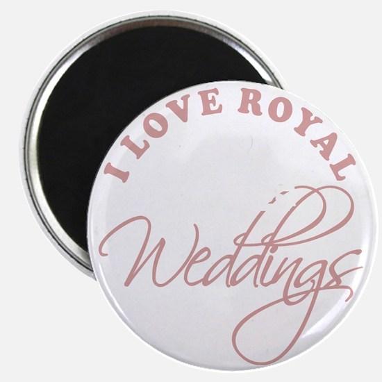 I Love Royal Weddings 2 copy Magnet