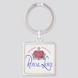 Royal Love 2 Square Keychain