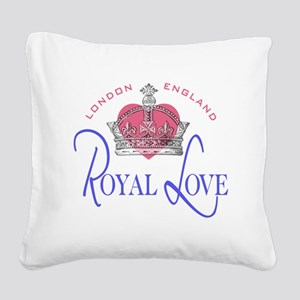 Royal Love 2 Square Canvas Pillow