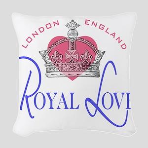 Royal Love 2 Woven Throw Pillow